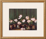 Tulipes Blanches Posters by Fabrice De Villeneuve