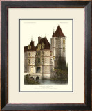 Petite French Chateaux X Prints by Victor Petit
