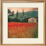 Poppies II Prints by Barbara Carter