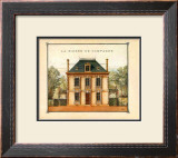Maison de Campagne, Oise Prints by Laurence David