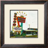 Holiday Motel: Miami Highway Posters by Ayline Olukman