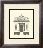 Parisian Facade IV Prints by Jean Deneufforge