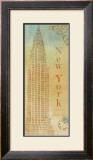 Travel Monuments II Print by John Zaccheo
