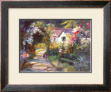 Garden Bench Prints by Dawna Barton