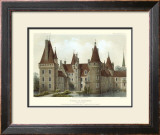 Petite French Chateaux IV Prints by Victor Petit