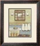 Seabreeze Bath II Prints by Wendy Russell