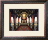Inside the Castle of the Orient: The King Who Sits on the Throne Framed Giclee Print by Kyo Nakayama