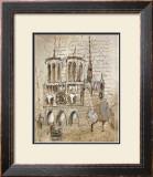 Notre Dame Art by Elizabeth Jardine