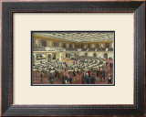 Hall of House of Representatives Art by George Goodwin Kilburne