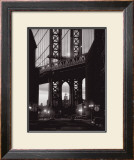 Manhattan Skyline from Dumbo Prints by Michel Setboun