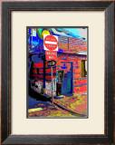 Do Not Enter, Venice Beach, California Framed Giclee Print by Steve Ash