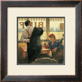 Brief Encounter Art by Raymond Leech