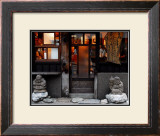 Shichifukujin Travels, Japan Framed Giclee Print by Petra Wels