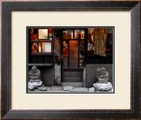 Shichifukujin Travels, Japan Framed Giclee Print by Petra Wels