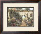 The Garden Gate Prints by Barbara R. Felisky
