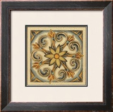 Crackled Cloisonne Tile II Prints by Chariklia Zarris