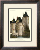 Petite French Chateaux XII Art by Victor Petit