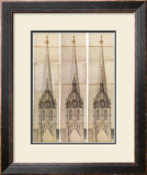 Central Tower 2 Print by Nicholas Hawksmoor