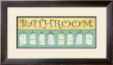 Bath Towels, Bathroom Poster by Grace Pullen