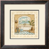 Ocean View Bath II Prints by Charlene Winter Olson