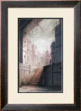 The Lonely Back Alley Framed Giclee Print by Kyo Nakayama