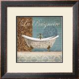 La Baignoire Posters by Conrad Knutsen