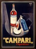 Campari Aperitif Liquer Framed Giclee Print