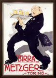 Birra Metzger Framed Giclee Print by  Mateldi