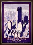 Rockefeller Center Railroad, c.1934 Framed Giclee Print
