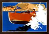 Scarborough, LNER Poster, 1930 Framed Giclee Print by Frank Newbould