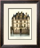 Petite French Chateaux XI Prints by Victor Petit