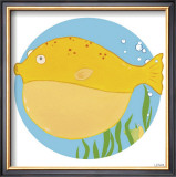 Billy the Blowfish Prints by Erica J. Vess