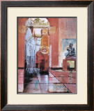 Victoria and Albert Interior I Print by Alison Pullen