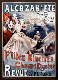 Alcazar d'Ete, P'Tites Binettes Framed Giclee Print by Alfred Choubrac