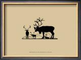 Elk Silhouette II Prints