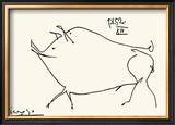 Pig Art by Pablo Picasso