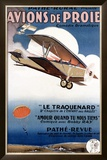 Aviation Air Show Framed Giclee Print by Rene Peron