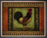Mediterranean Rooster VI Poster by Kimberly Poloson