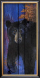 Blue Bear Print by Penny Wagner