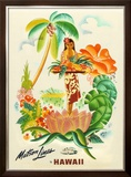 Maston Line, Tropical Abundance Framed Giclee Print by Frank Mcintosh
