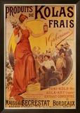 Produits de Kolas Frais Posters by Louis Tauzin