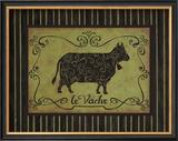 La Vache Print by Sophie Devereux