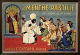 La Menthe-Pastille Framed Giclee Print by Eugene Oge