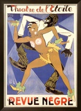 La Revue Negre Framed Giclee Print by  Orsi