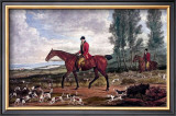 Horse Fox Hunt II Posters by Timothy Blossom