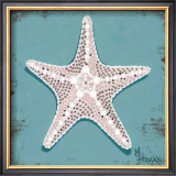 Distressed Seashells: Starfish I Prints by Melody Hogan