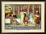 Eptinger Framed Giclee Print by Burkhard Mangold