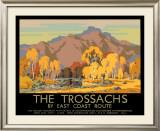 The Trossachs Framed Giclee Print by John Littlejohns