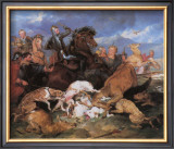 The Hunting of Chevy Chase Framed Giclee Print by Edwin Landseer