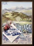 Uriage les Bains Framed Giclee Print by Hugo D'Alesi